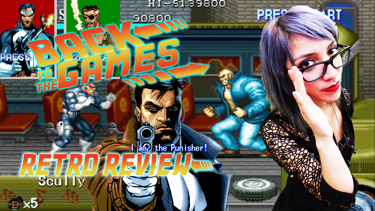 *RETRO REVIEW!! Nro2 The Punisher Arcade!  Video