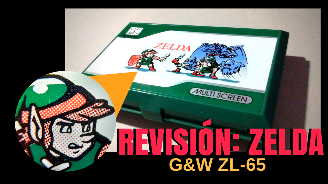 Revisión Game and Watch: Zelda (ZL-65)