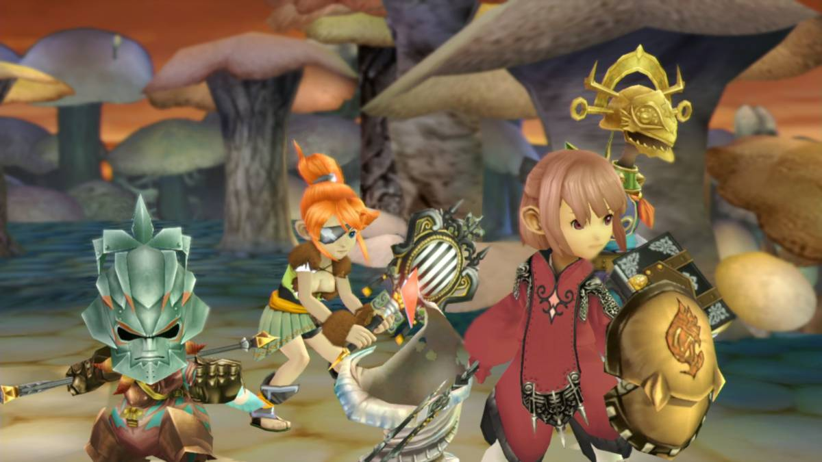 Final Fantasy Crystal Chronicles Remastered ya tiene fecha de debut en Japón